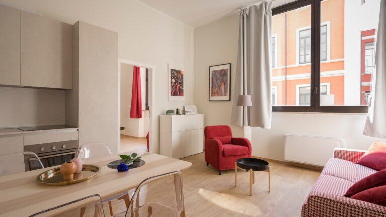 Compact studio appartment