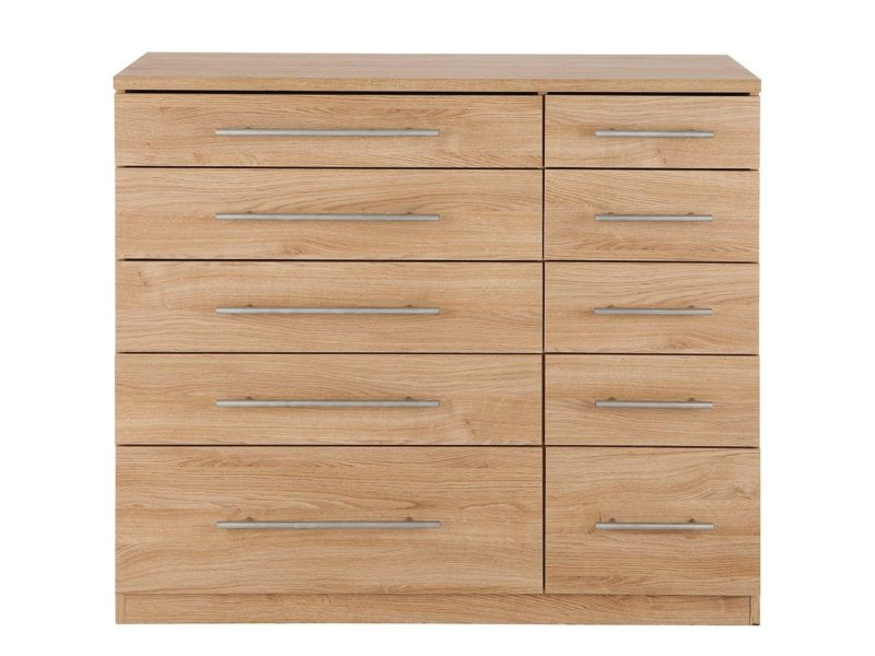 5 plus 5 combination drawer chest
