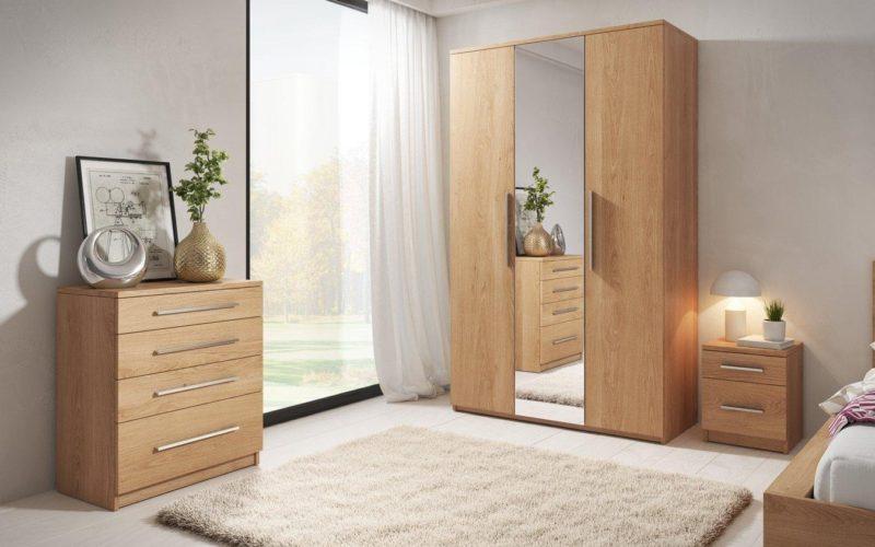 4 piece oak furniture package
