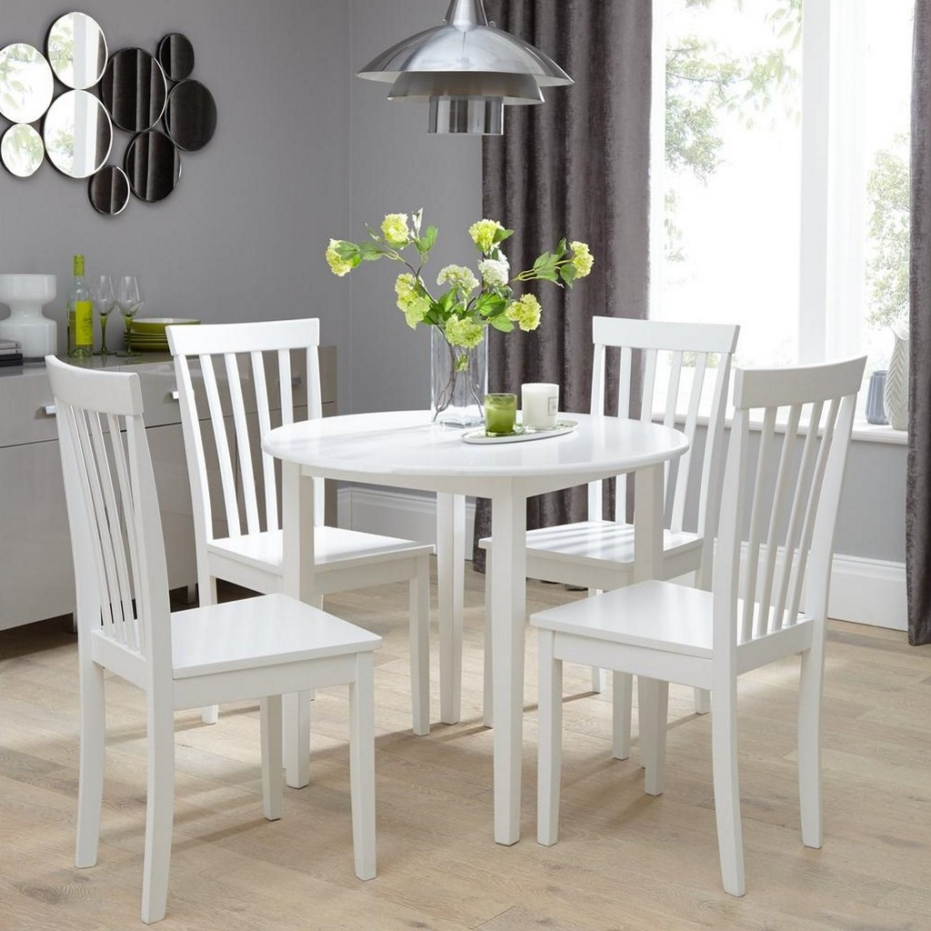 sophia 90 cm round dining table 4 chairs u2013 a small