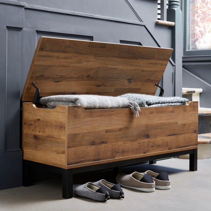 Rustic storage trunk