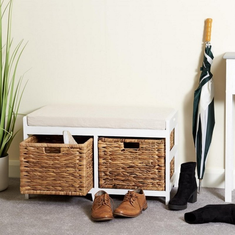 Marvelous Hallway Storage Benches The Furniture Co Onthecornerstone Fun Painted Chair Ideas Images Onthecornerstoneorg