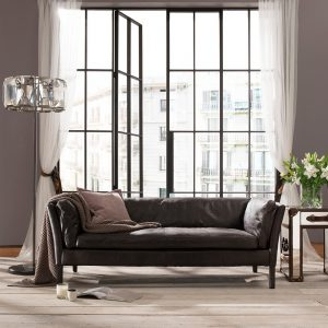 Halo Groucho Leather Sofas