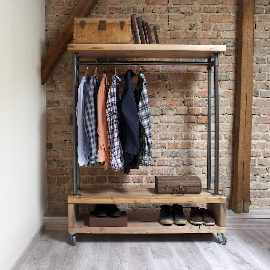 Wooden Clothes Rails The Furniture Co