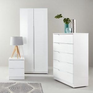Monoco High Gloss Bedroom Furniture