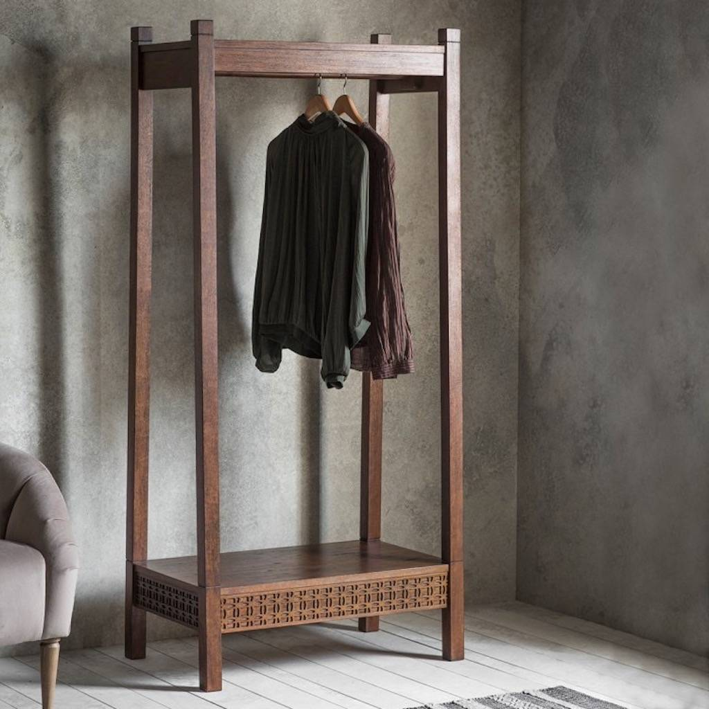 vintage style clothes rail uk, wooden clothes rails – the furniture co, Design ideen