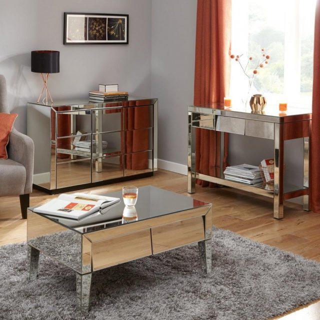 Monte Carlo Mirrored Living Room Range