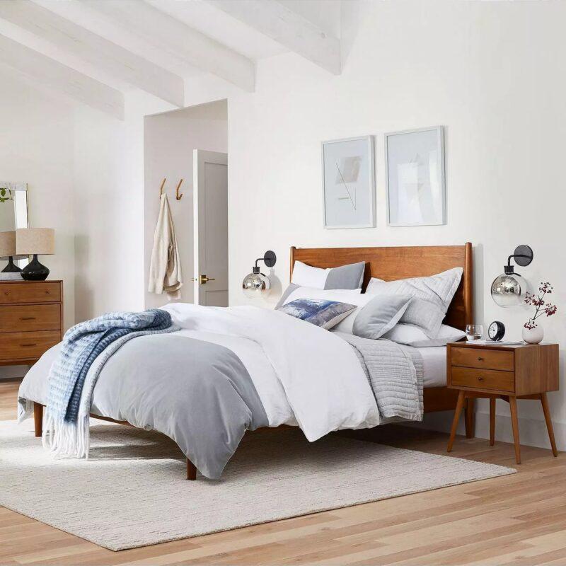 West Elm Mid Century Acorn Bedroom, West Elm Bedroom Furniture