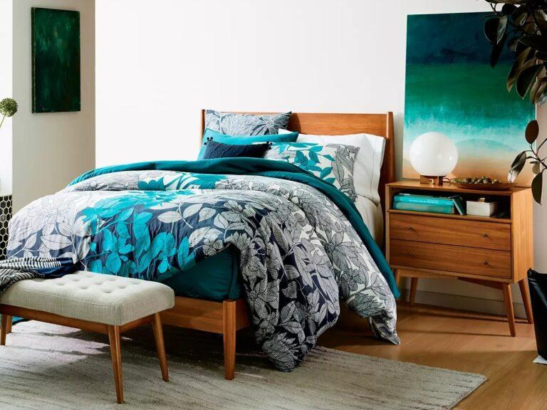 Mid-century style bedroom furniture