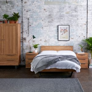 Calia Rustic Oak Bedroom Furniture