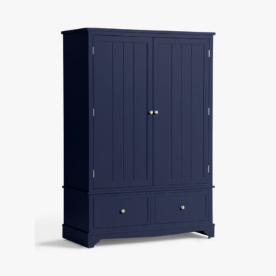 Ink painted 2-door wardrobe