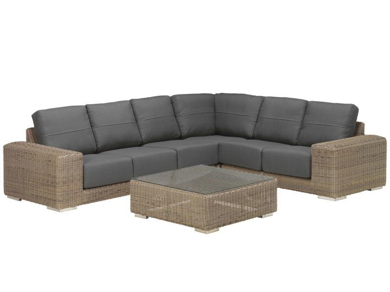 5-seater outdoor corner set
