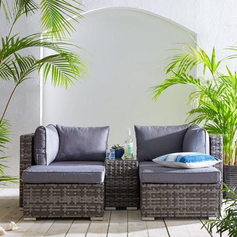 5 piece garden modular sofa set