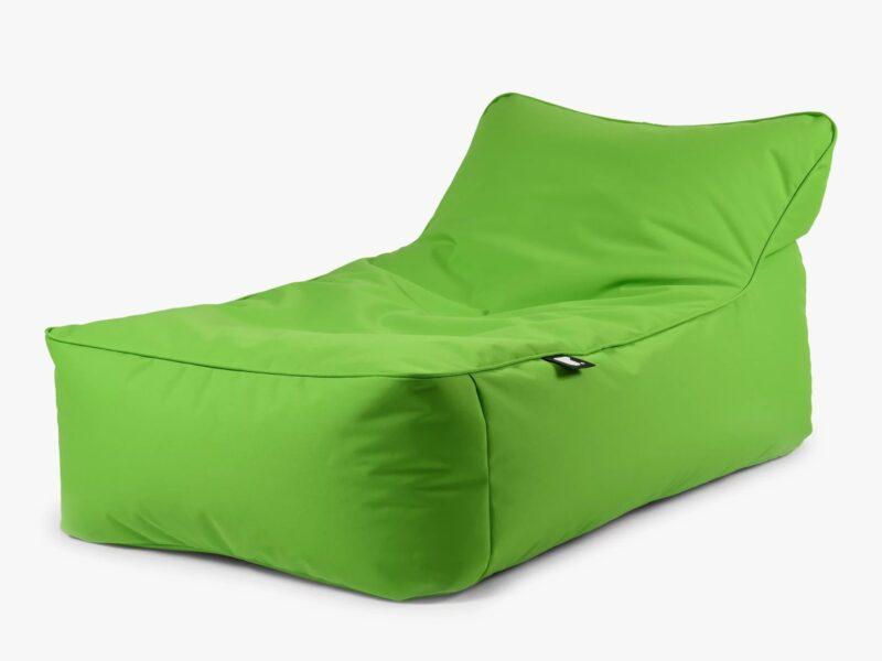 Lime green bean bag lounger