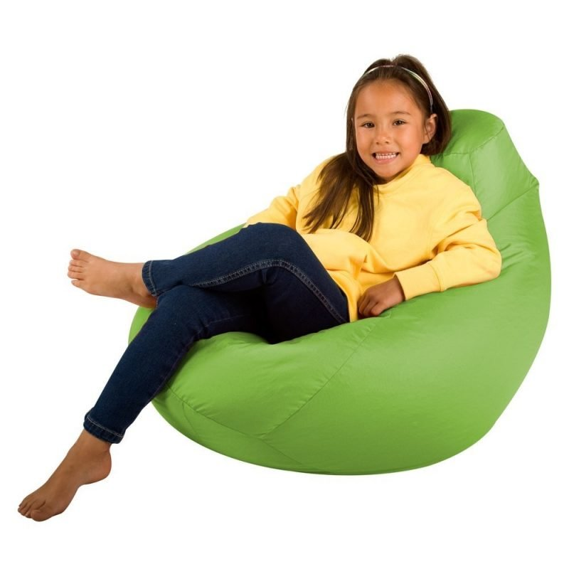 Kid's green bean bag