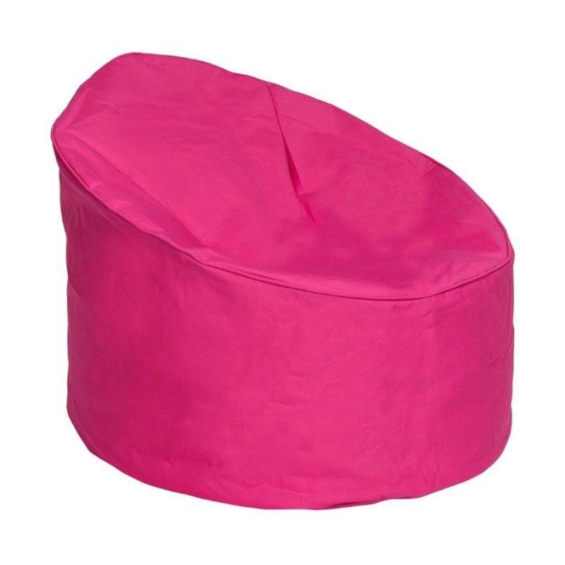Pink outdoor bean bag chair