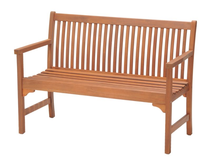 Traditional style garden bench