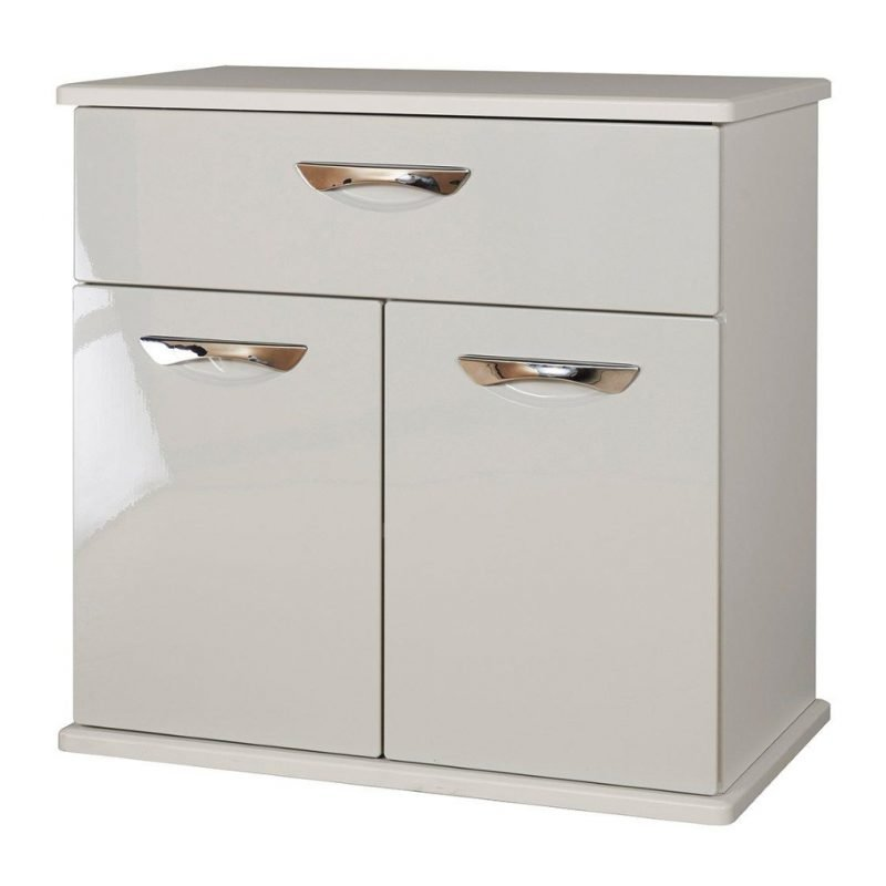 Gloss finish compact sideboard