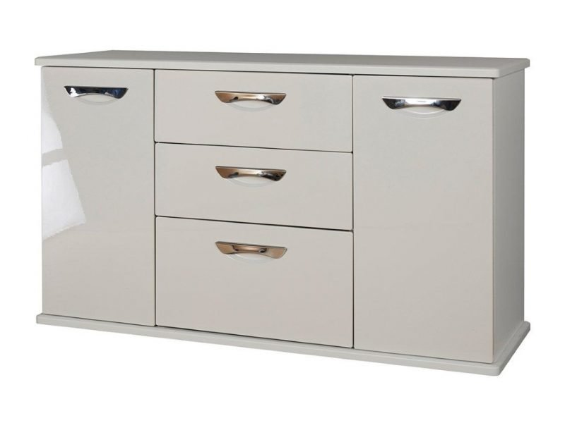 Gloss finish sideboard