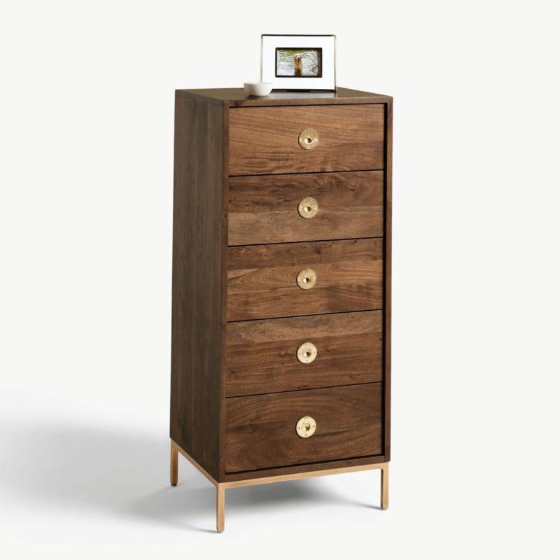 5 drawer tallboy chest