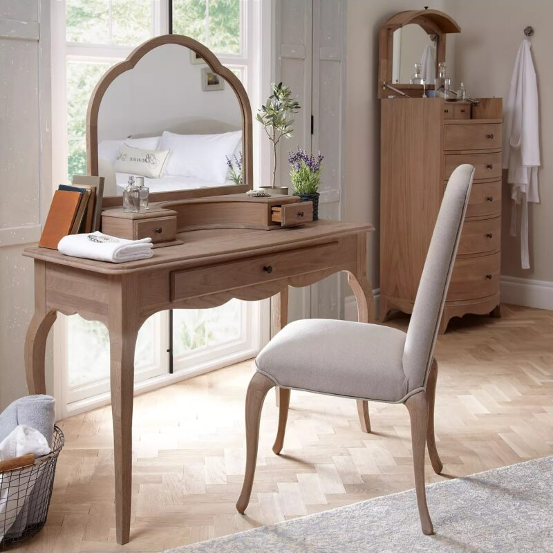 Ornate French style dressing table
