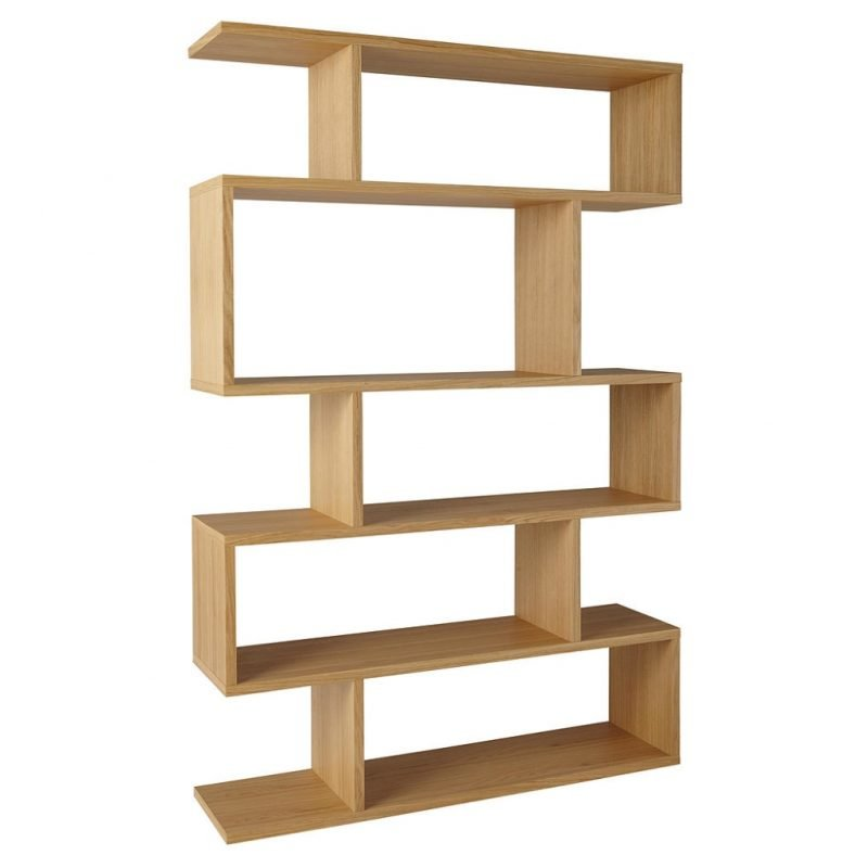 5 tier designer bookcase
