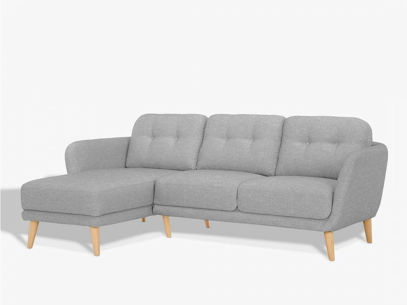 Left-handed chaise sofa