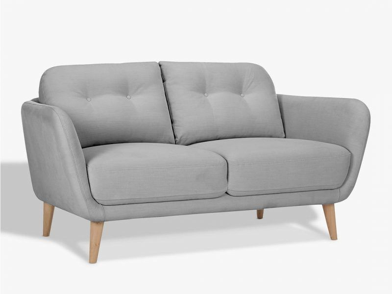 Small fabric 2-seater sofa