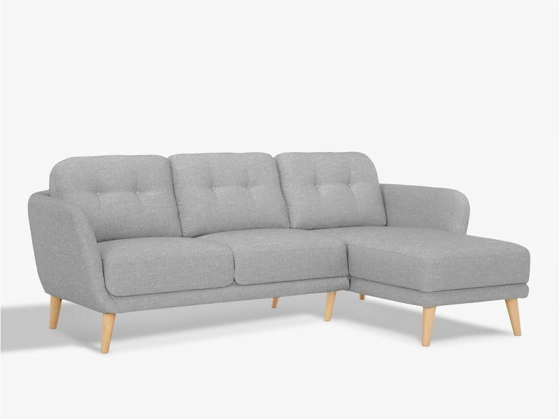 Right-handed chaise end sofa