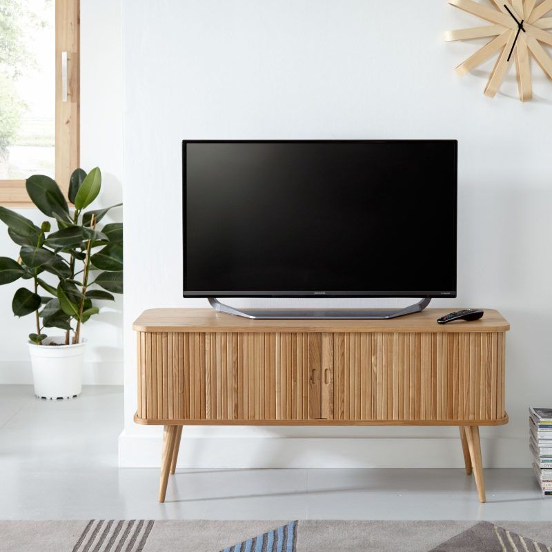 TV console with storage