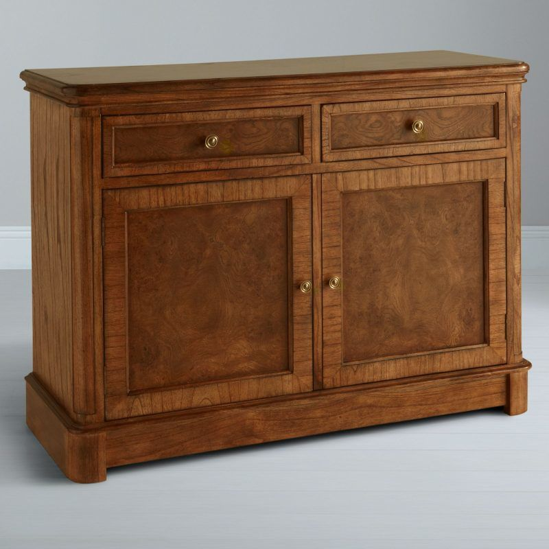 2-door oak sideboard