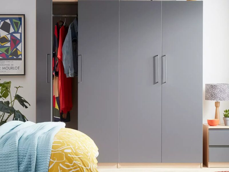 Graphite grey bedroom furniture