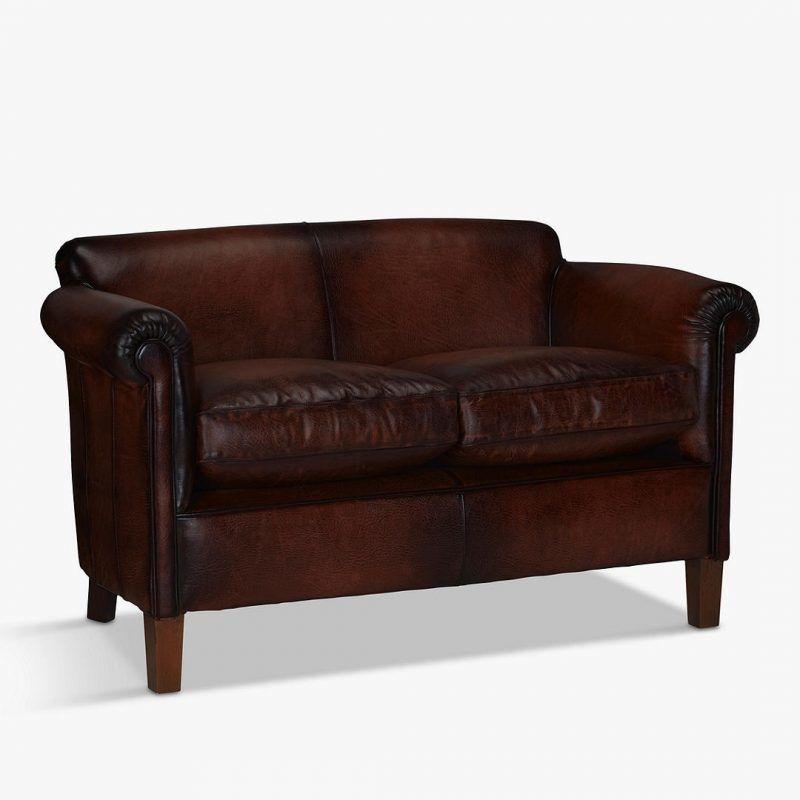 Chestnut colour sofa