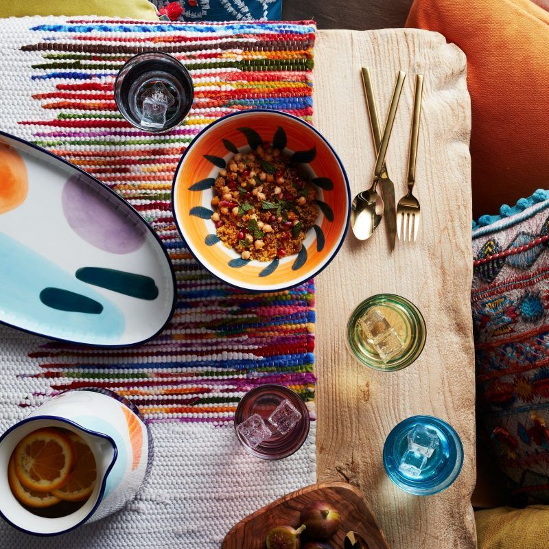 Bohemian summer tableware collection