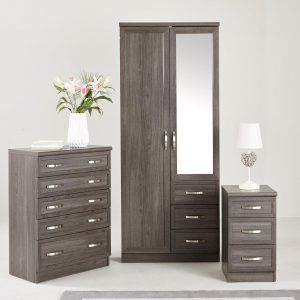 Dark oak bedroom furniture