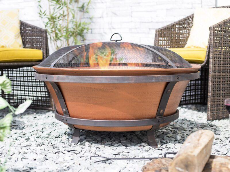 Copper Fire Pit