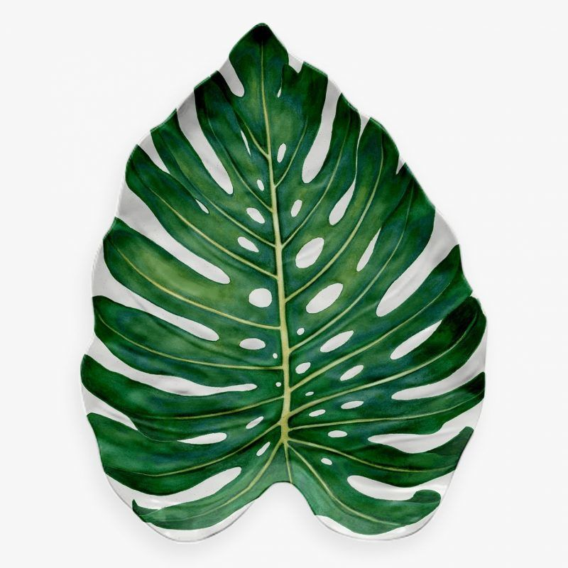 Leaf shaped platter
