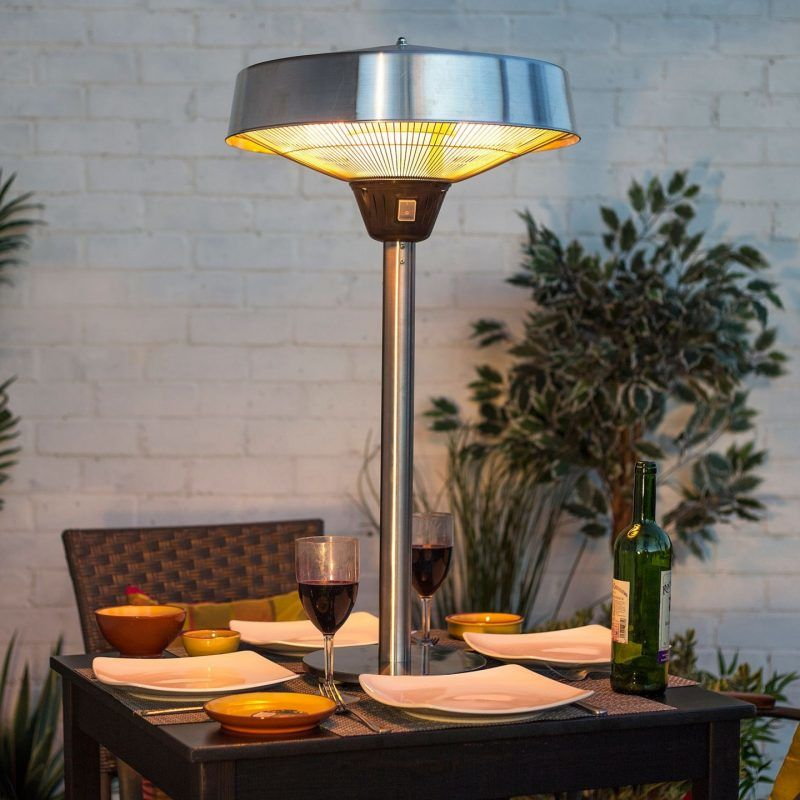 Compact patio heater