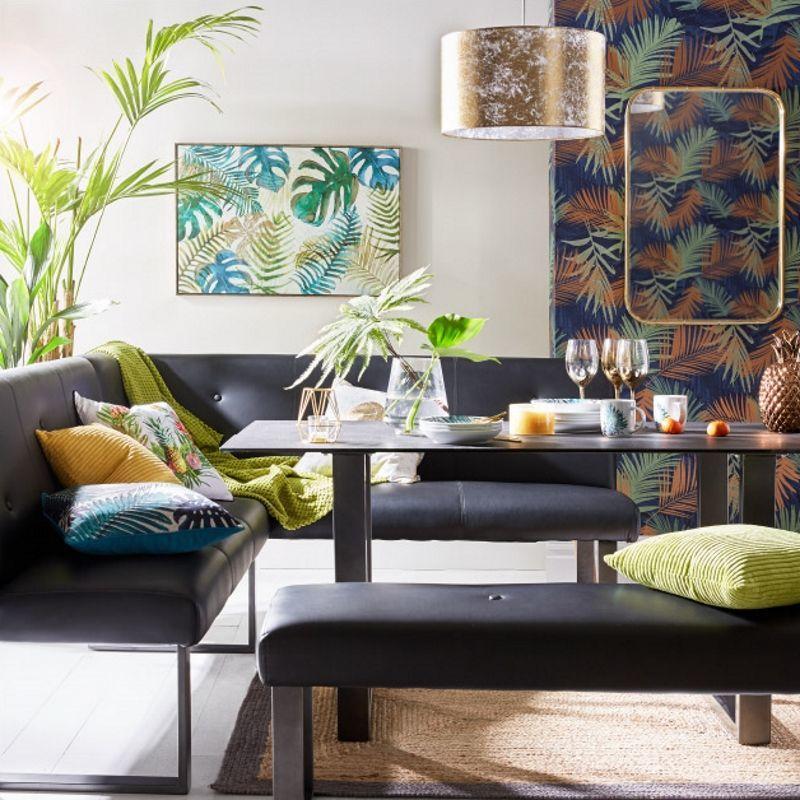 Leafy design dining room