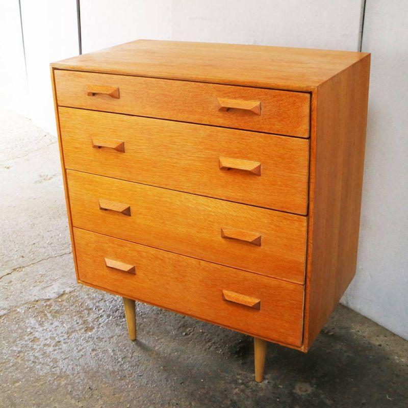 Mid-century drawer chest