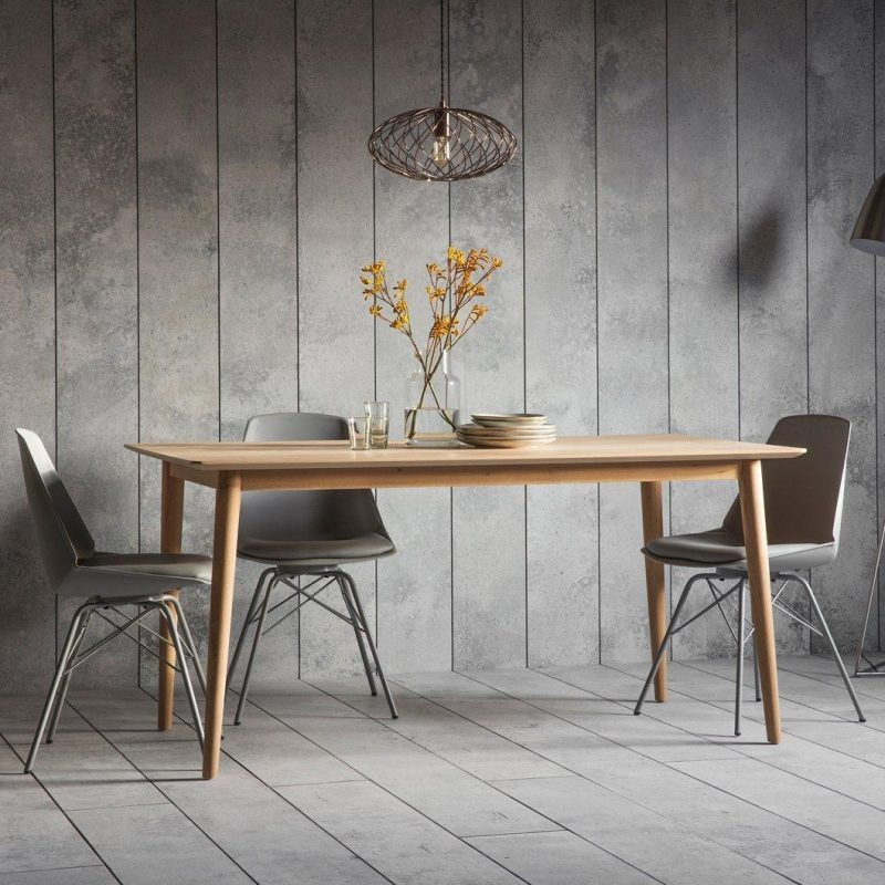 Hudson Living Milano Dining Table The Furniture Co