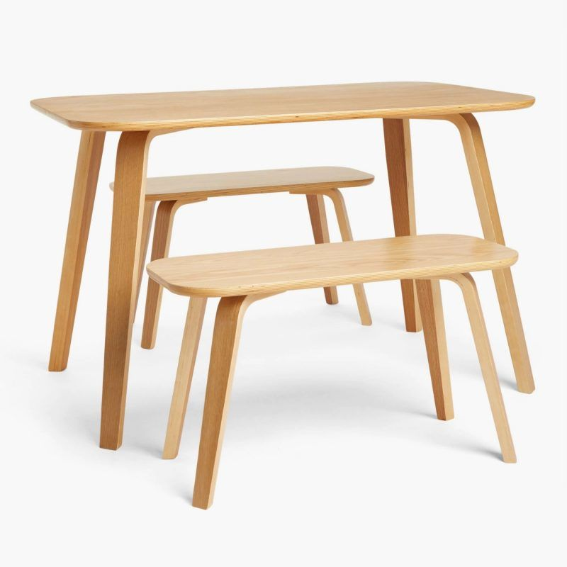 Small dining table and two benches