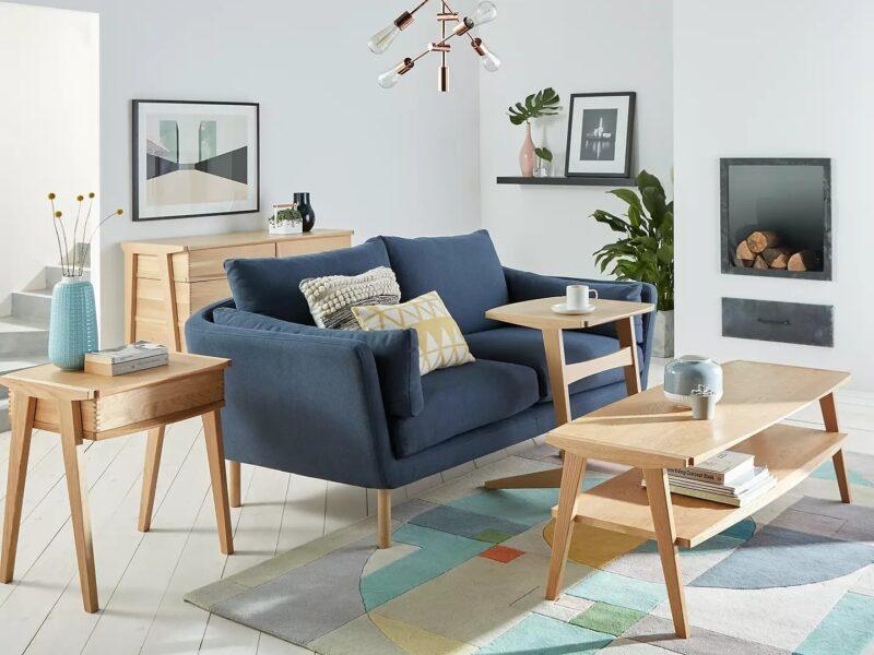 Modern oak furniture range