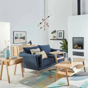 Modern oak furniture range