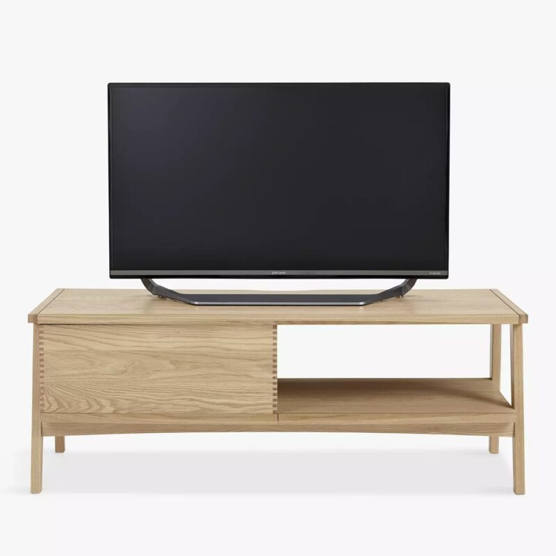 Oak TV Stan with Drawer