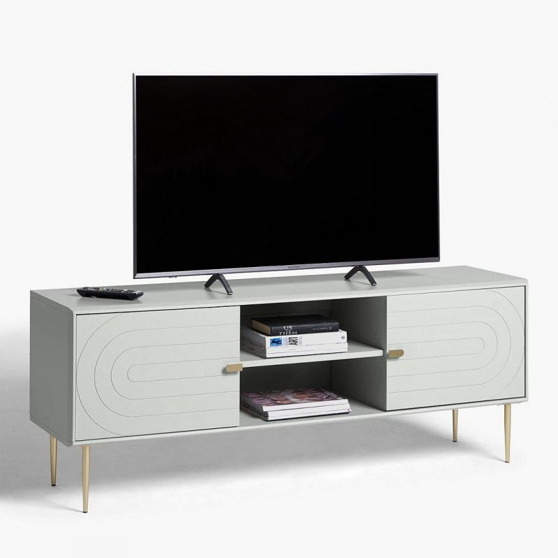 Grey TV console
