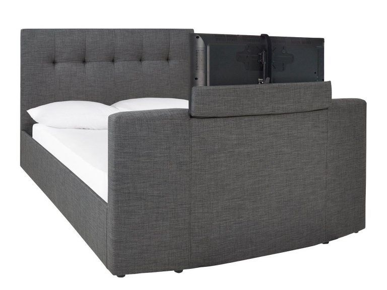 TV Bed with screen raised