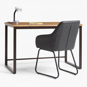 Industrial style desk