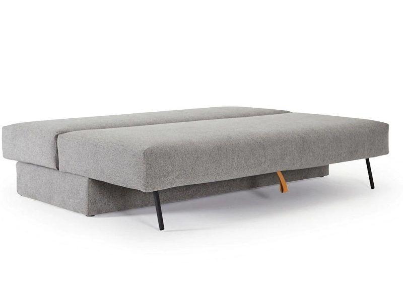 Osvald sofa bed laid flat