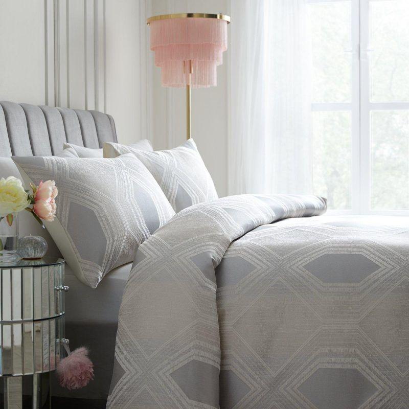 Geometric print bedding